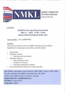 NMKL-kurs 110515